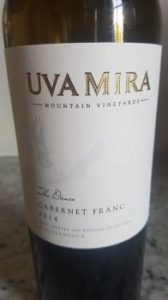 Uva Mira The Dance Cabernet Franc 2014