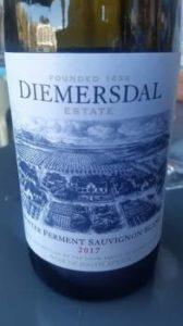 Diemersdal Winter Ferment Sauvignon Blanc 2017