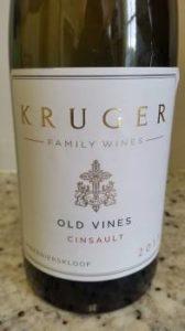 Kruger Family Wines Old Vines Cinsault 2017
