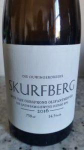 The Old Vine Series Skurfberg 2016