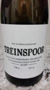 The Old Vine Series Treinspoor 2016, The Old Vine Series Treinspoor 2016