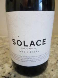 Iona Solace Syrah 2015