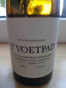 The Old Vine Series 'T Voetpad 2016