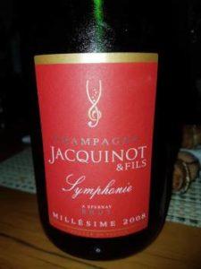 Champagne Jacquinot & Fils Symphonie 2008