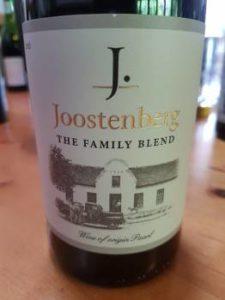 Joostenberg The Family Blend 2016