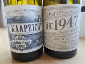 Kaapzicht Kliprug Bush Vine Chenin Blanc vs The 1947 Chenin Blanc 2016