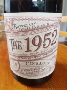 Kaapzicht The 1952 Cinsault 2016