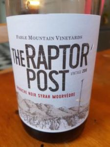 The Raptor Post Red 2016