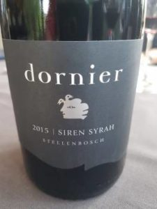 Dornier Siren Syrah 2015