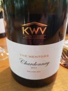 KWV The Mentors Chardonnay 2015