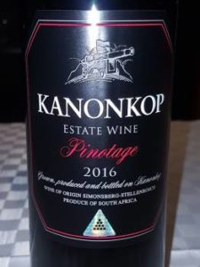 Kanonkop Black Label Pinotage 2016