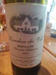 Landau du Val Semillon 2014