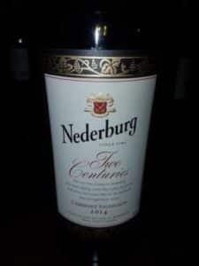 Nederburg Two Centuries 2014