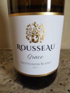 Rousseau Grace Sauvignon Blanc 2017