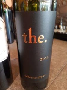 the. Cabernet Franc 2014