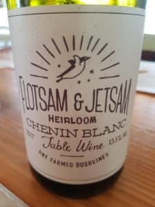 Flotsam & Jetsam Chenin Blanc 2017