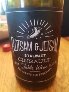 Flotsam & Jetsam Cinsault 2017