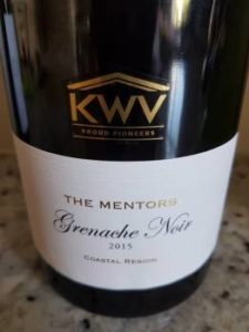 KWV The Mentors Grenache Noir 2015