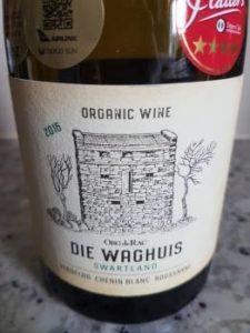 Org de Rac Die Waghuis Organic White 2016