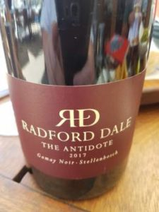 Radford Dale The Antidote Gamay Noir 2017