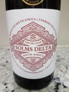 Solms Delta Terroir Collection Grenache 2015