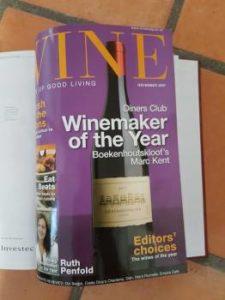 Wine magazine December 2007
