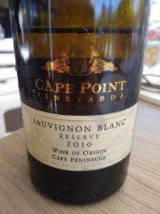 Cape Point Vineyards Sauvignon Blanc Reserve 2016