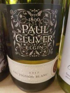 Paul Cluver Sauvignon Blanc 2017