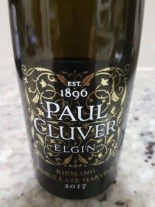Paul Cluver Noble Late Harvest 2017
