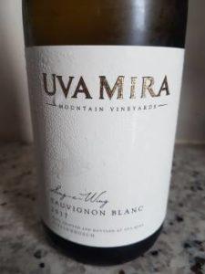 Uva Mira Sing-a-Wing Sauvignon Blanc 2017