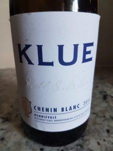 Klue Chenin Blanc 2016