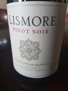 Lismore Pinot Noir 2017