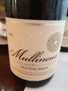 Mullineux Old Vines White 2017, Mullineux Old Vines White 2017