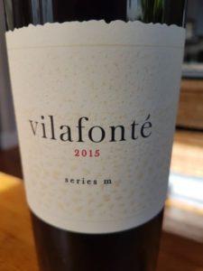 Vilafonté Series M 2015, Vilafonté Series M 2015