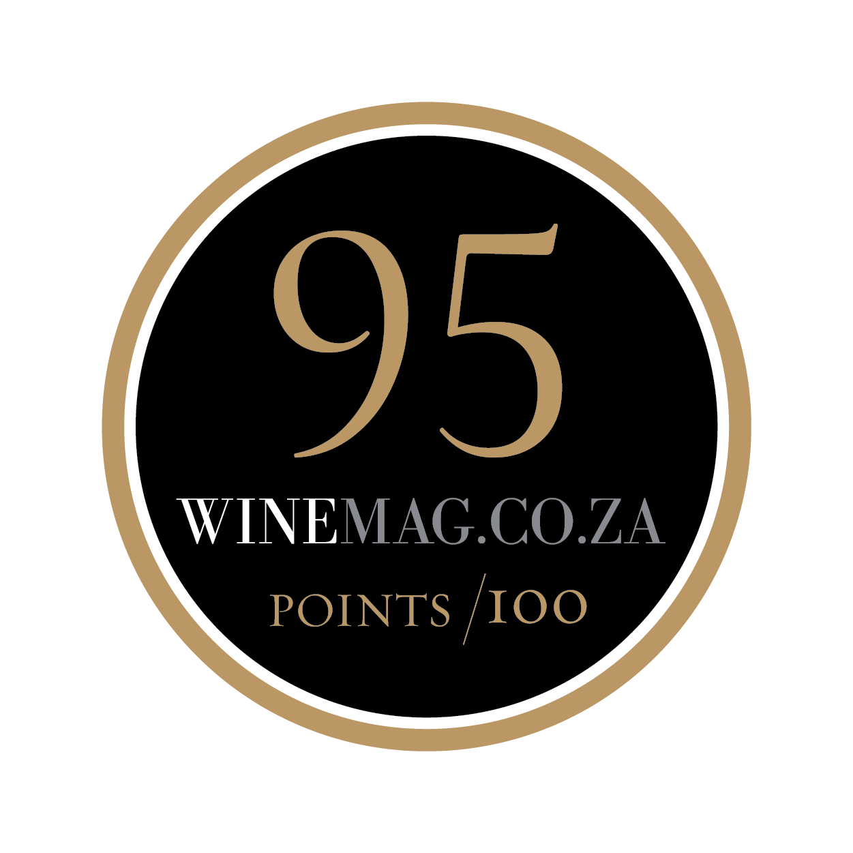 Winemag rating sticker
