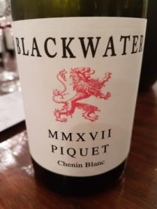 Blackwater Piquet Chenin Blanc 2017