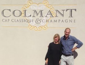 Ann Ferreira and J-P Colmantt