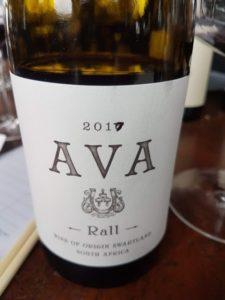 Rall Ava Syrah 2017