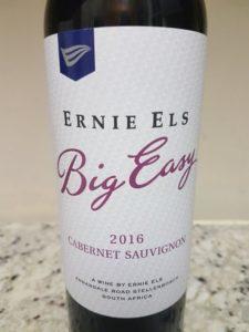 Ernie Els Big Easy Cabernet Sauvignon 2016