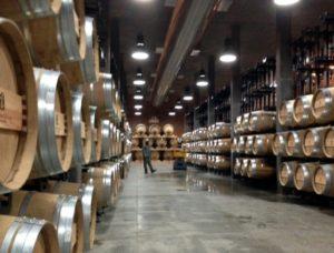 New barrel cellar at Boekenhoutskloof