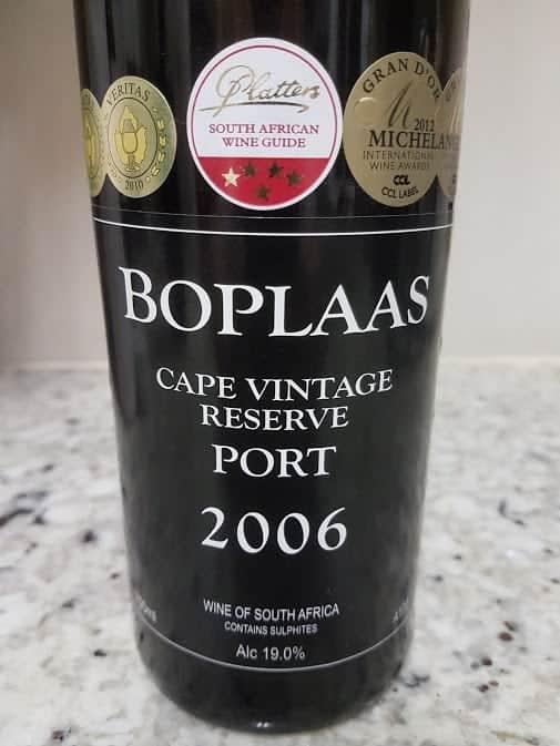Boplaas Cape Vintage Reserve 2006