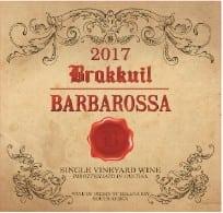 Brakkuil Barbarossa 2017 label