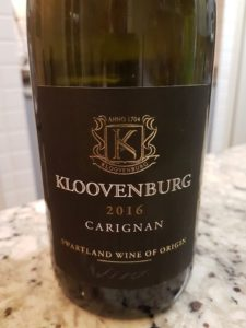 Kloovenburg Carignan 2016