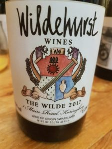 Wildehurst The Wilde 2017, Wildehurst The Wilde 2017