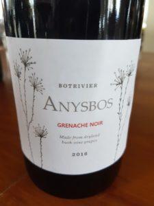 Anysbos Grenache Noir 2016