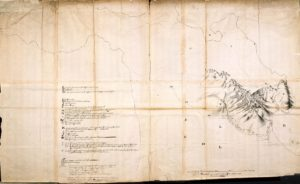 Map of the Cape of Good Hope circa 1658