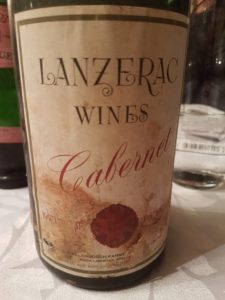 Lanzerac Cabernet Dry Red 1957