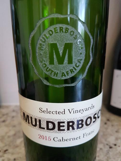 Mulderbosch single vineyard chenin blanc