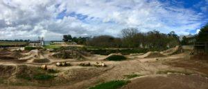The bike park at Constantia Uitsig