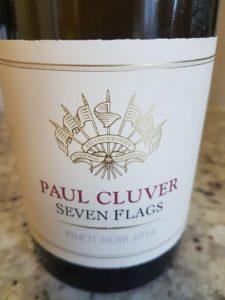 Paul Cluver Seven Flags Pinot Noir 2016